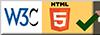 W3C Html5 Certified